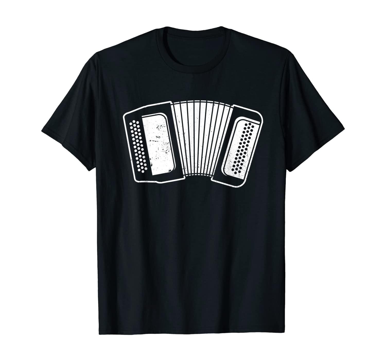 Funny Accordion Musician T-Shirt