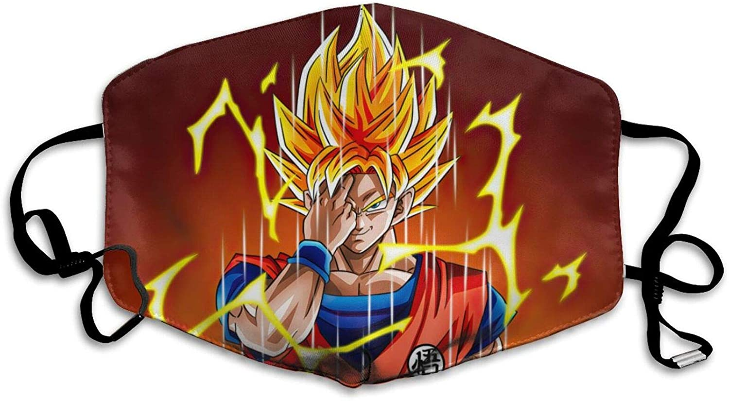 Anime Dragon-Ball Face C-over Christmas Anti-dust Cloth Neck Gaiter Son Goku Bandana Scarf for Outdoors Cycling Camping 05