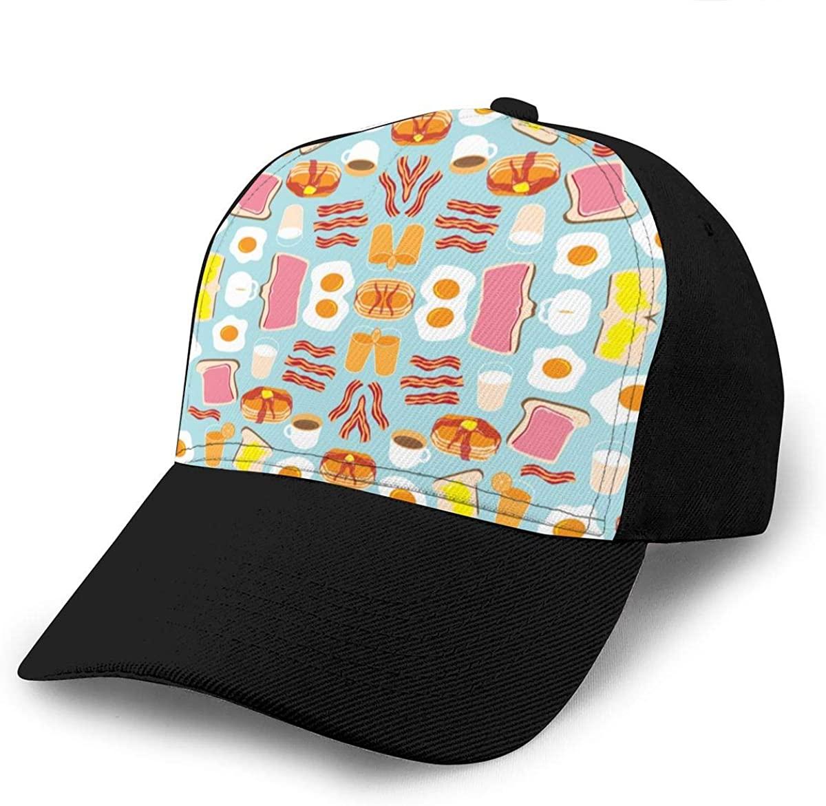 Adult Men's Baseball Cap Hat Ball Cap Cycling Cap Hip Pop Snapback Hat