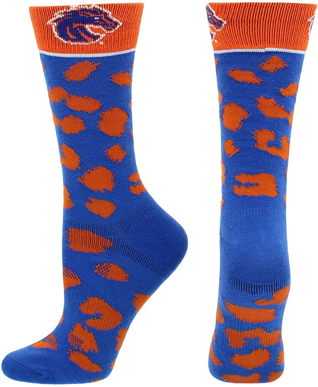 TCK Boise State Broncos Socks Womens Savage Crew Socks