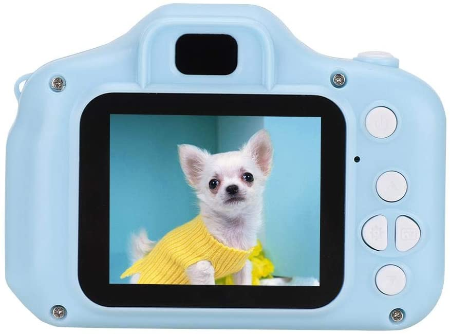 Children's Digital Camera,2.0inch Color Screen HD Digital Camera for Kids,Portable Mini Multi-Function Camera Supports up to 32GB,Ideal for Kids Gift