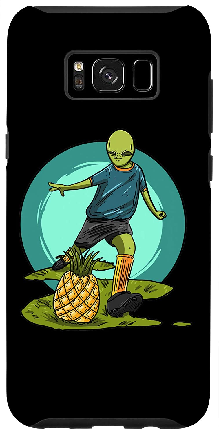Galaxy S8+ Alien Soccer Pineapple Funny Football Galaxy Player Gift Case
