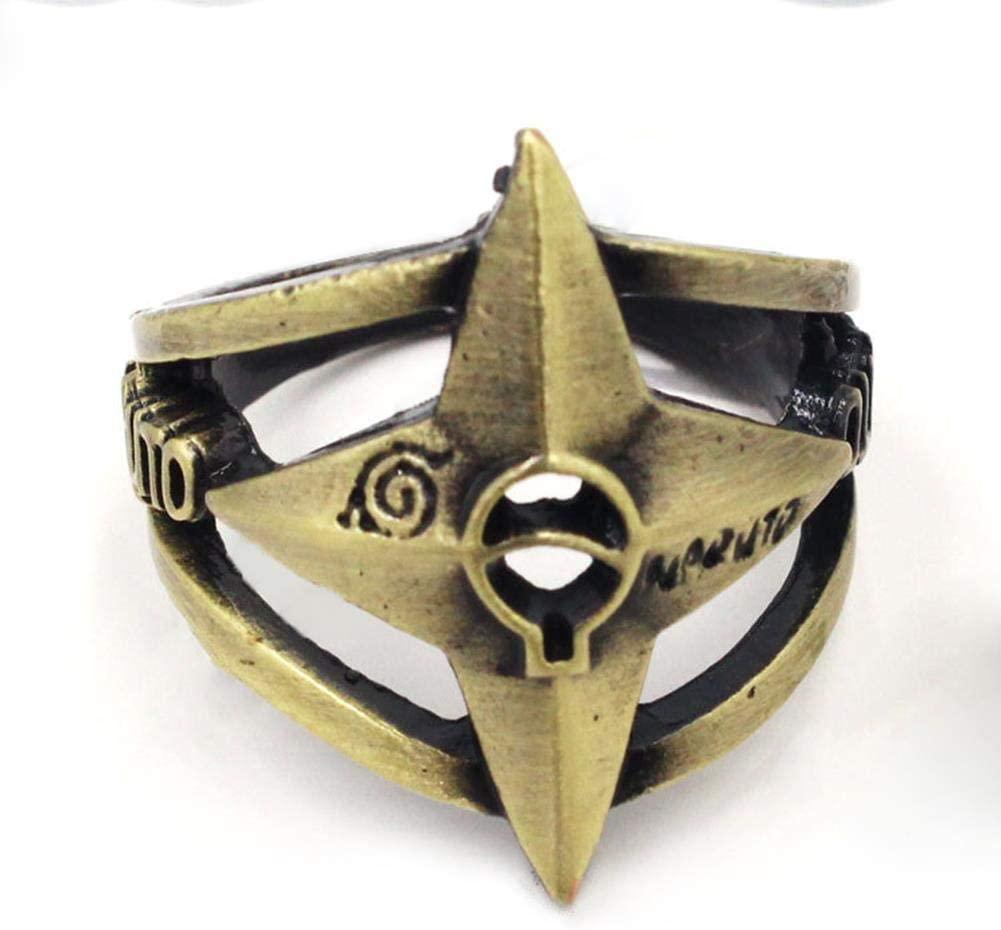 Coz' Place Bronze Naruto Shuriken Ninja Cosplay Ring (with Box)