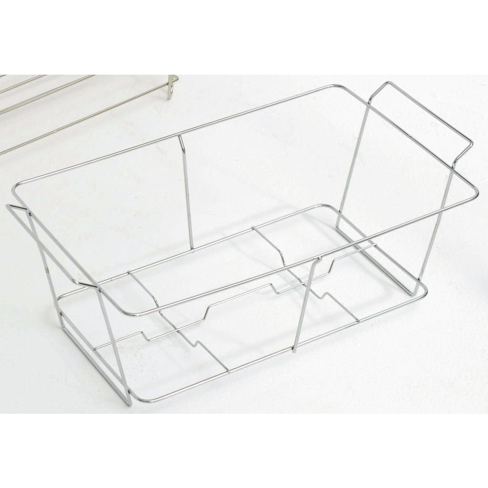 Chafer Stand Wire Full Size Chrome Finish Economy - 22 3/4