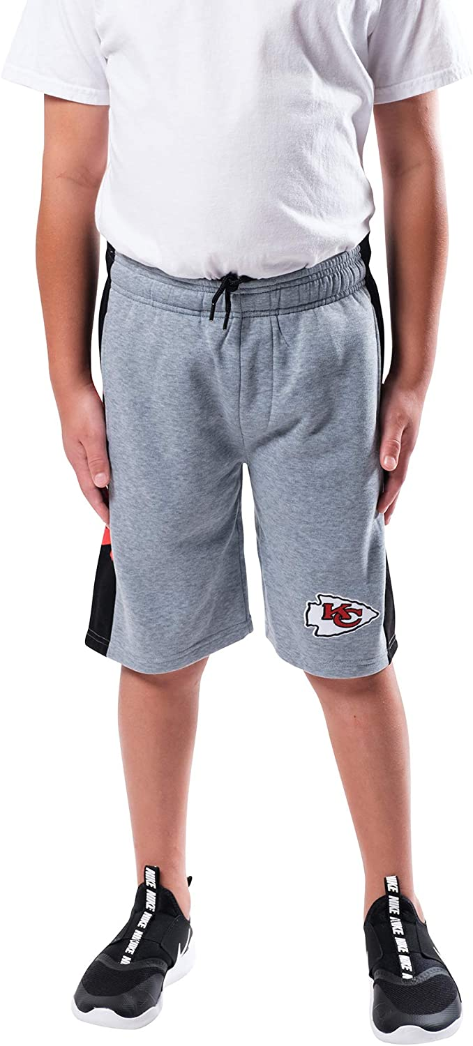 Ultra Game NFL Boy's Active Training Shorts