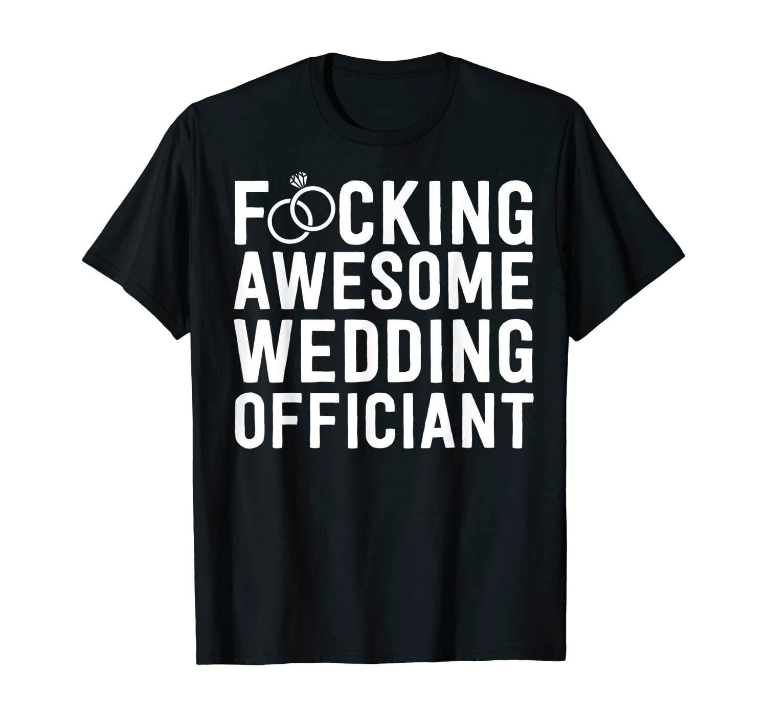 Awesome Wedding Officiant Gift For Men Minister T-Shirt