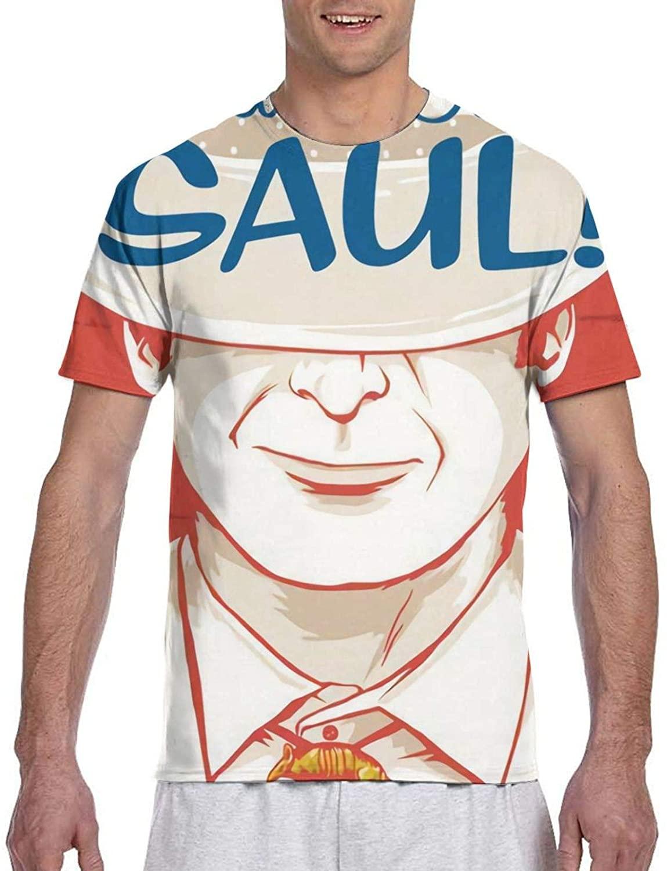 Better Call Saul Fashion Cotton Men's Short Sleeve Printed Tshirt