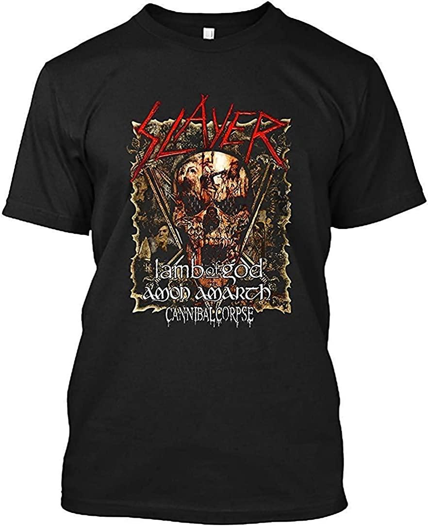 Slayer 2019 Tour tuor 50 T-Shirt for Men