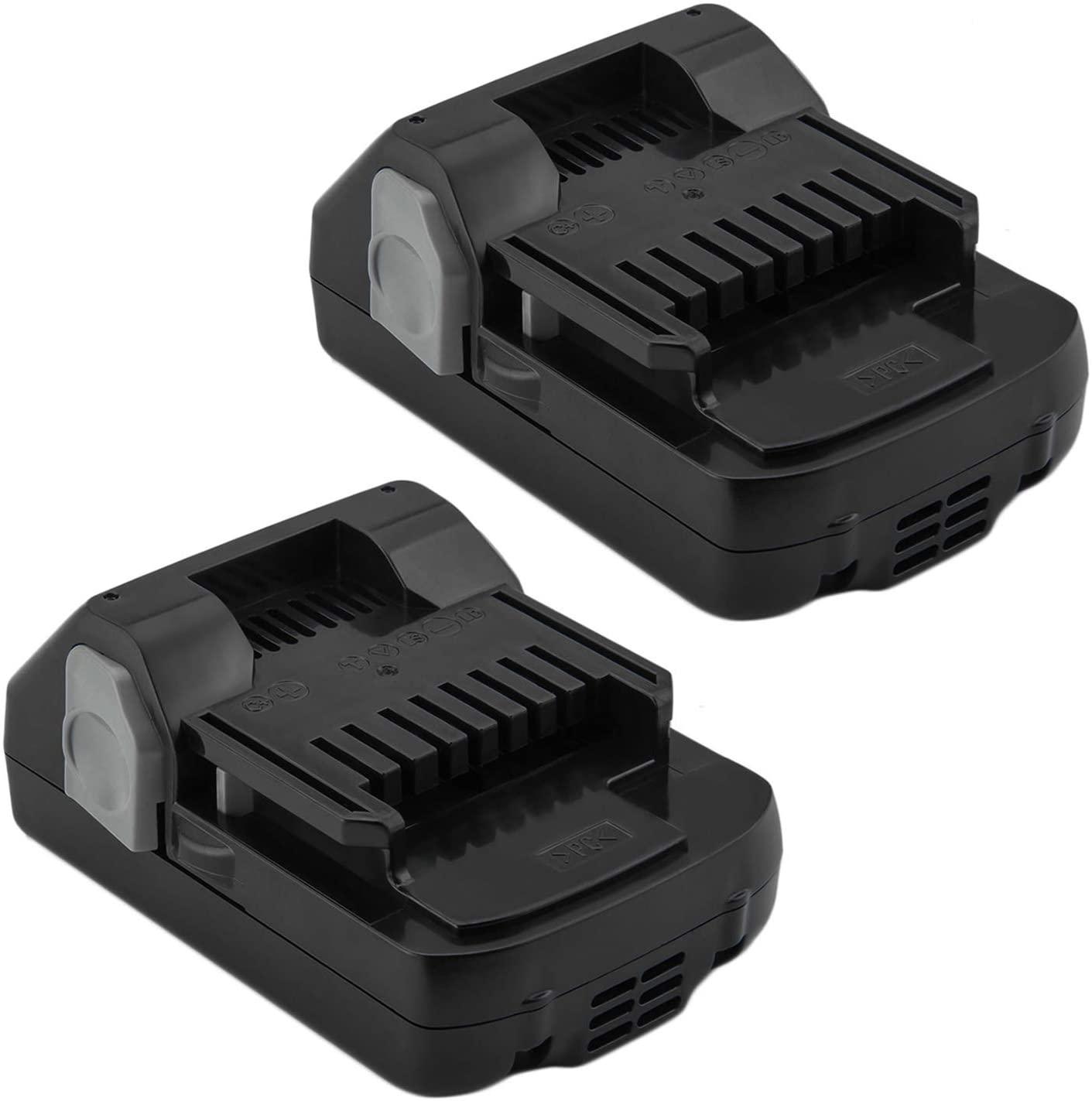 Exmate 2 Pack 18V 2.5Ah Li-ion Slide Style Battery for Hitachi 339782 BSL1830C BSL1815S BSL1815X BSL1830 330139 330557