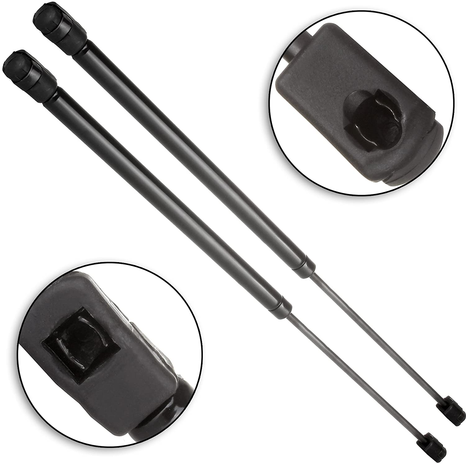 cciyu Qty(2) 4645 Rear Glass Window Lift Supports Struts Replacement fit for 1993-1998 Mercury Villager,1993-1998 Quest