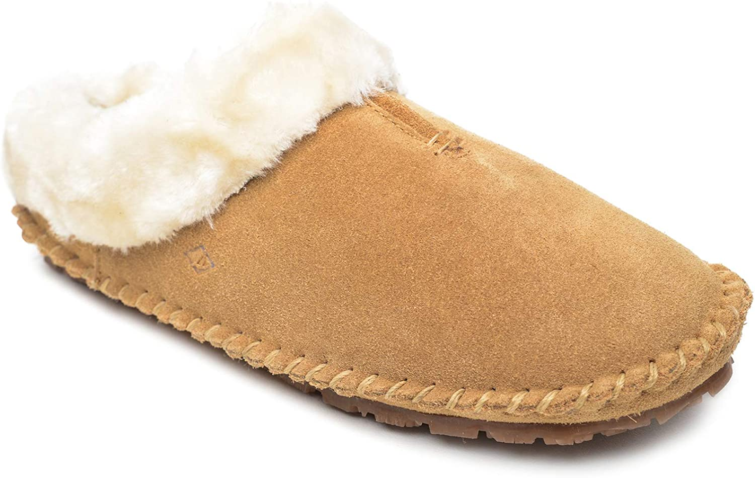 Sperry Women's Fur Trim Clog Slipper