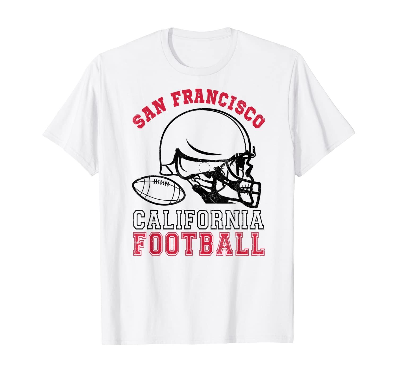 San Francisco California Football Perfect Cool Gift Souvenir T-Shirt