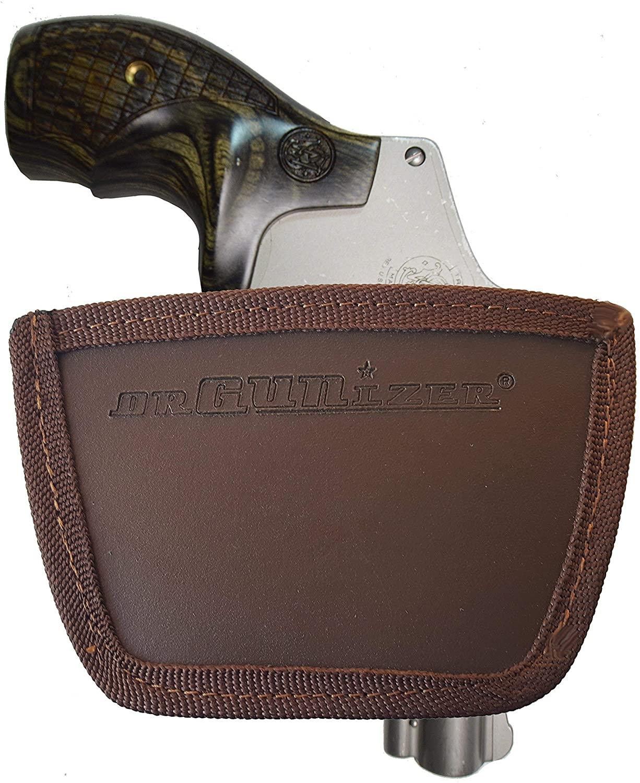 Garrison Grip Leather Inside & Outside Waistband Holster for Smith & Wesson J Frame (SLH) BN