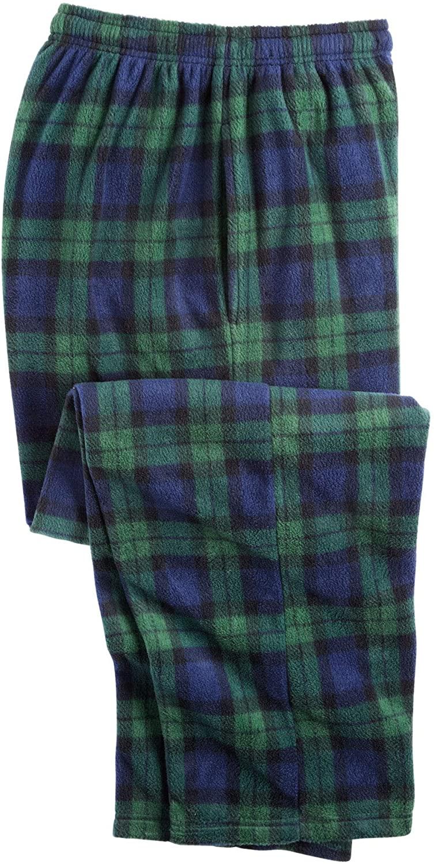 KingSize Men's Big & Tall Microfleece Pajama Pants Pajama Bottoms