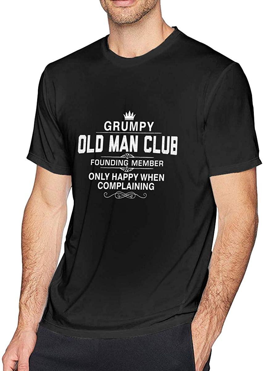 Anime & Gruvia Classic Short Sleeve T Shirts for Men Black