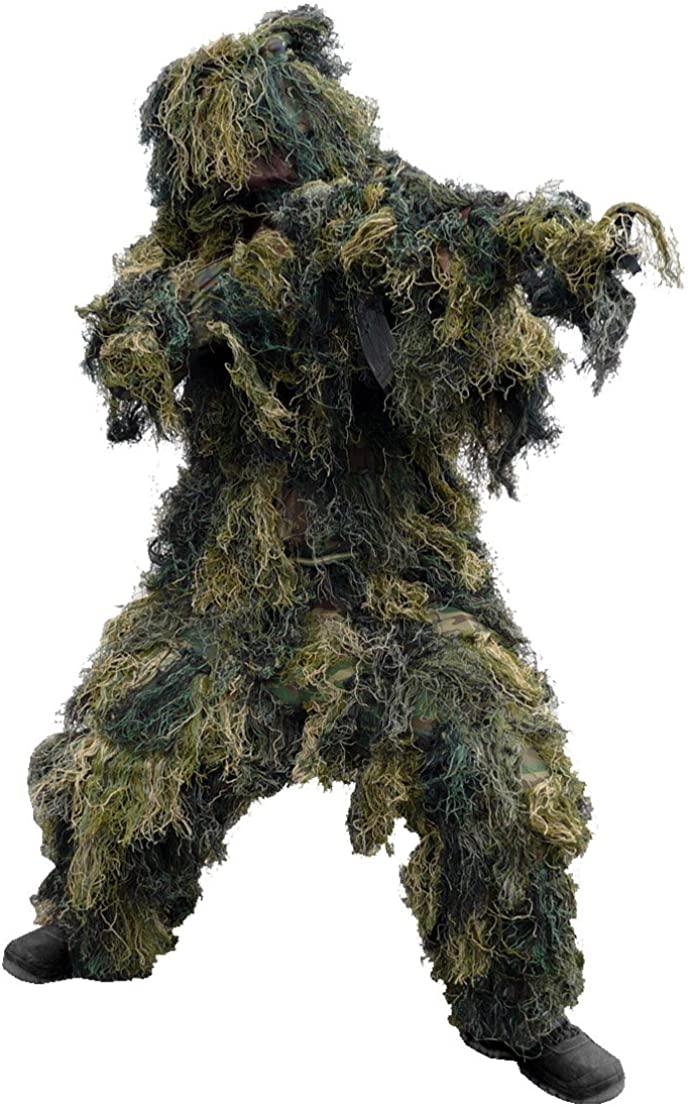 Mil-Tec Ghillie Suit 4 pcs. Woodland Size XL/XXL