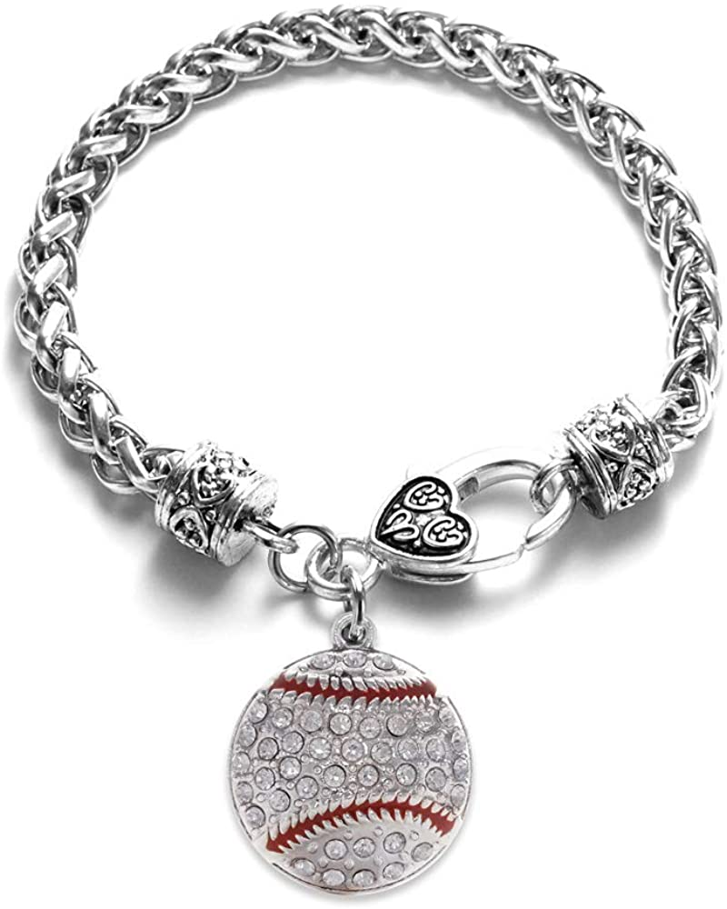 Inspired Silver - Silver Customized Charm Bracelet with Cubic Zirconia Jewelry