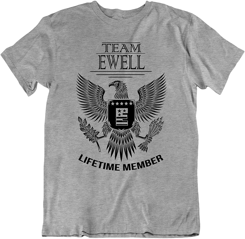 Team Ewell Lifetime Member Family Surname T-Shirt Families The Ewell Last Name