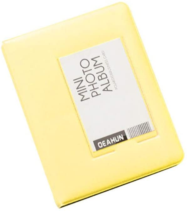 adonpshy Photo Album,64/32 Pockets Photo Album Picture Storage Case for Polaroid Fujifilm Instax Mini (4.41