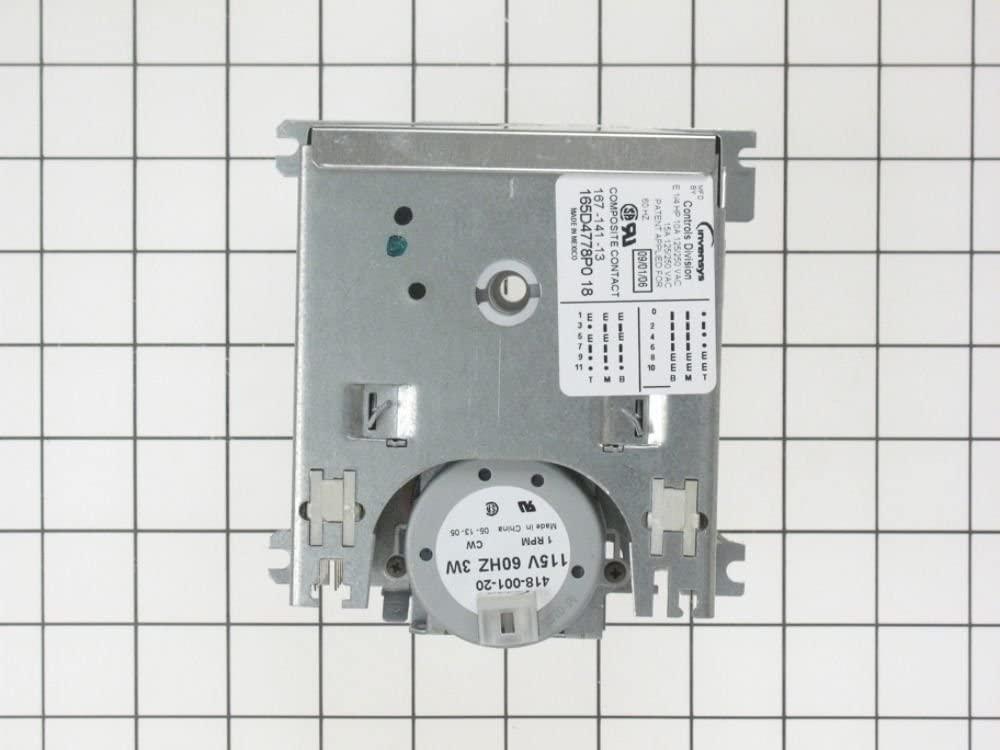 GE WD21X10109 Dishwasher Timer Genuine Original Equipment Manufacturer (OEM) Part