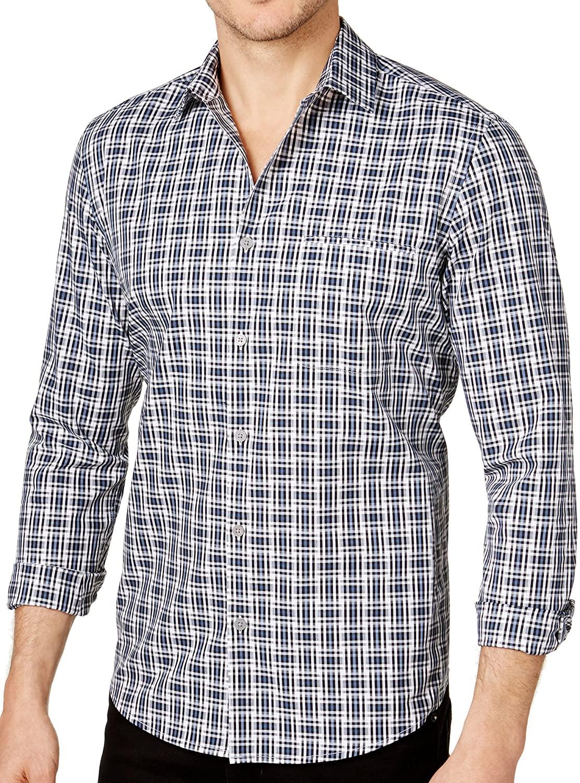 Alfani Men's Printed Button Down Shirt
