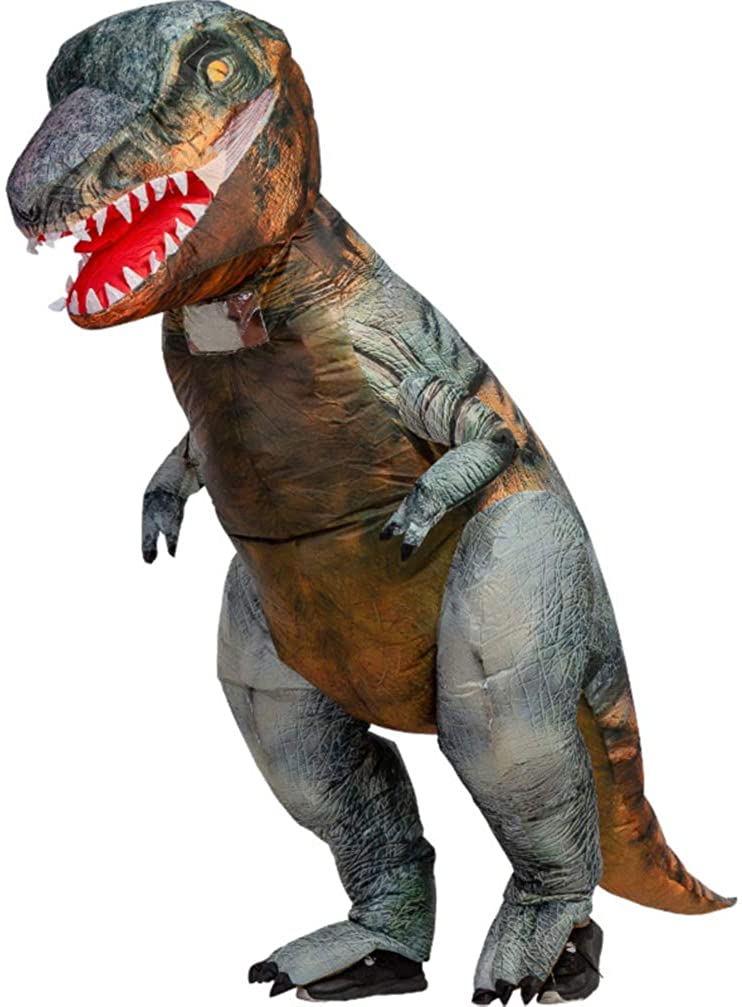 Adult Inflatable Dinosaur Costume Halloween Christmas Party Fancy Dress