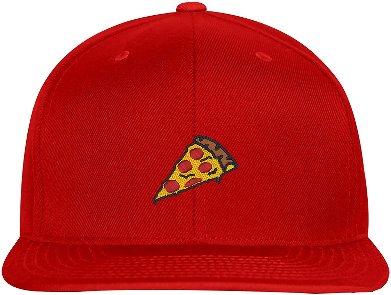 Pizza Slice Pepperoni Embroidery Stitch, Snapback Hat
