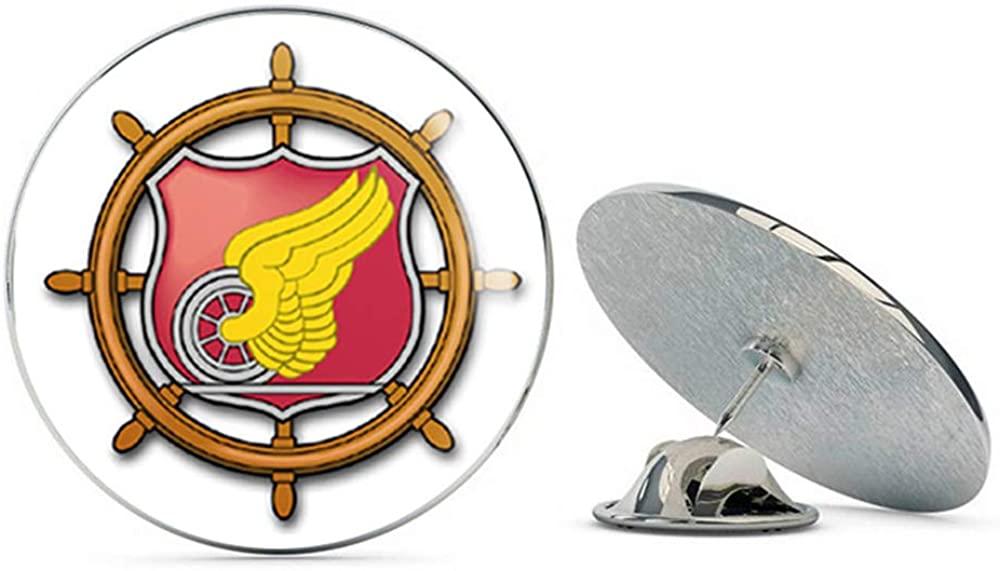 Veteran Pins US Army Transportation Corps Color Metal 0.75