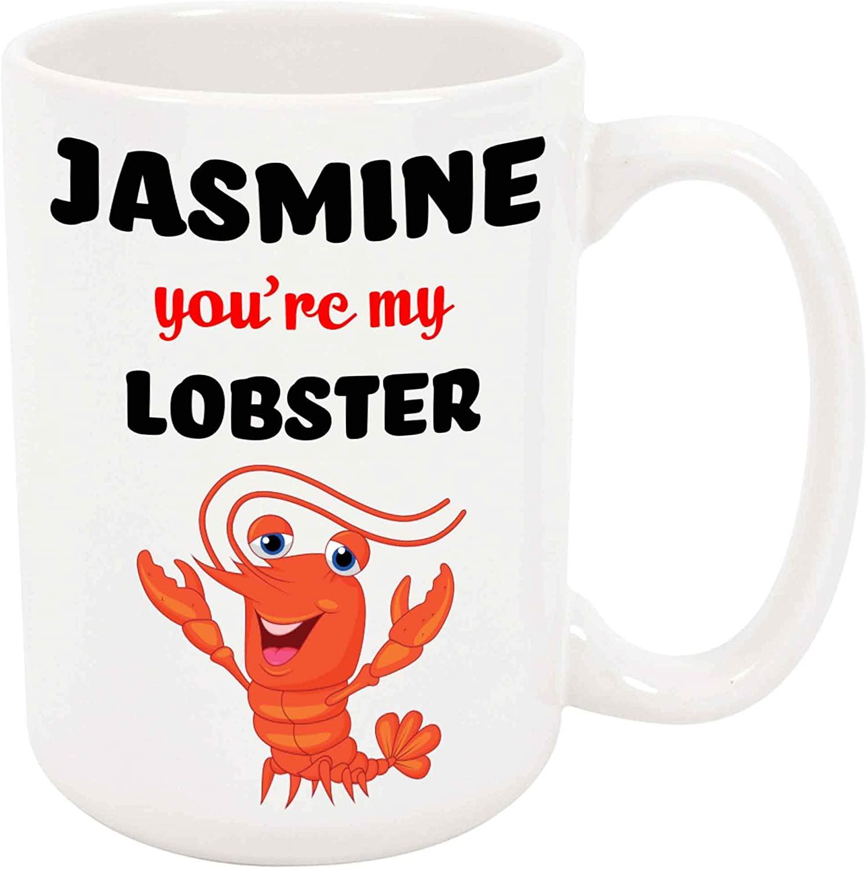 Jasmine Youre My Lobster Coffee Mug
