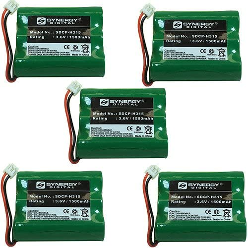 V-tech VT2428 Cordless Phone Battery Combo-Pack includes: 5 x SDCP-H315 Batteries