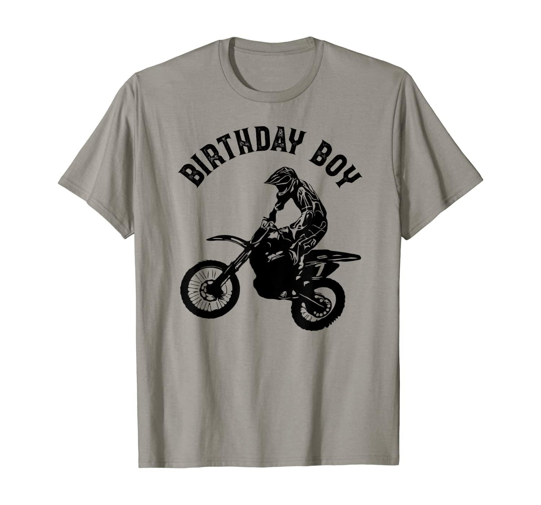 Birthday boy - Dirt bike - Motorcycle T-Shirt