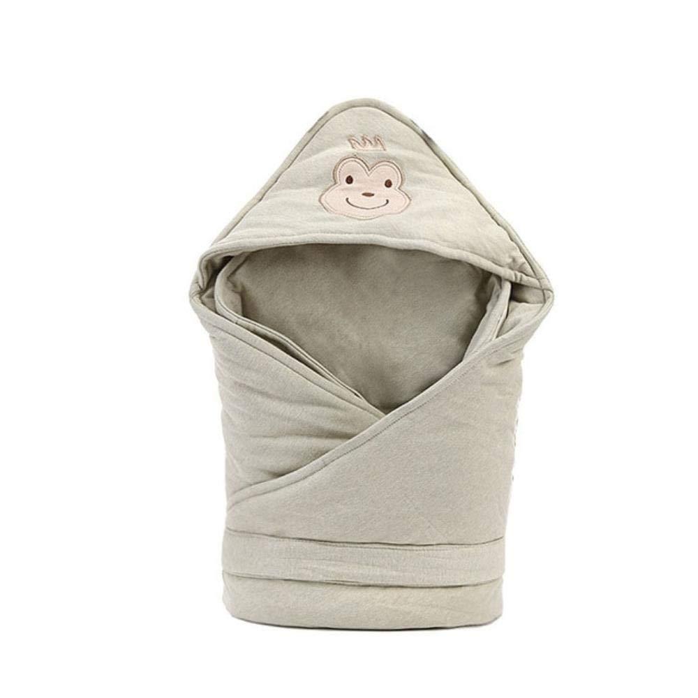 Soft Newborns Cotton Cartoon Blanket for Kids Soft Warm Wrap for Baby Girl Boy Sleeping Bag 80x80cm,Green Frog