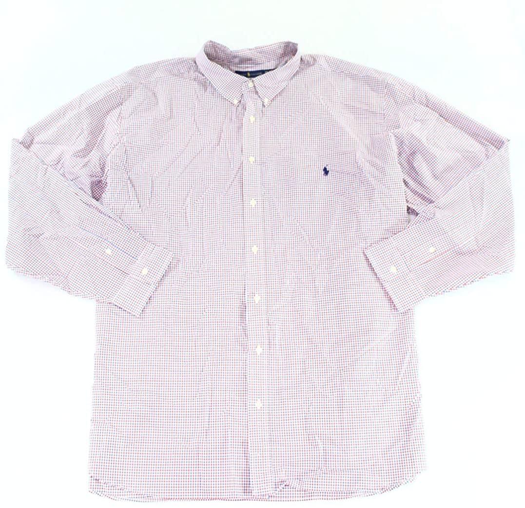 Ralph Lauren Mens Classic Fit Button Up Shirt