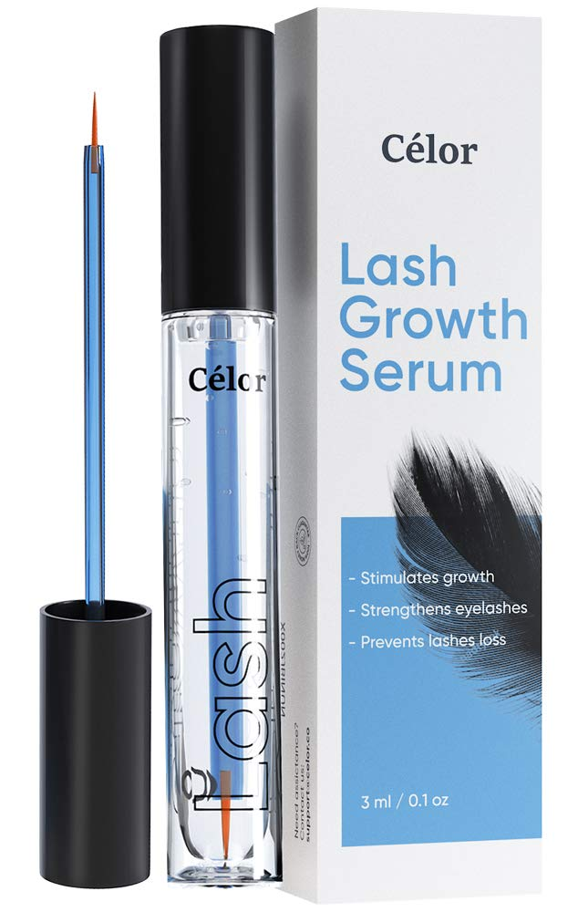 Eyelash Growth Serum - Eyelash Serum and Eyebrow Growth Serum - Lash Serum, Rapid Lash, Lash Boost, Eyebrow Serum (3 ml / 0.1 oz)