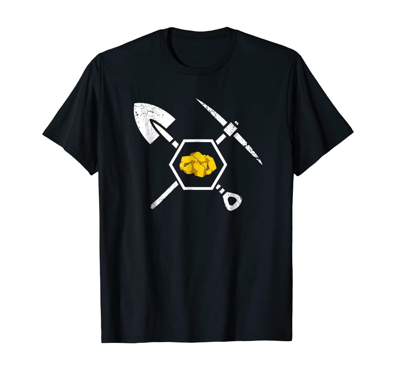 Gold Miner Prospecting Treasure Hunting Shirt