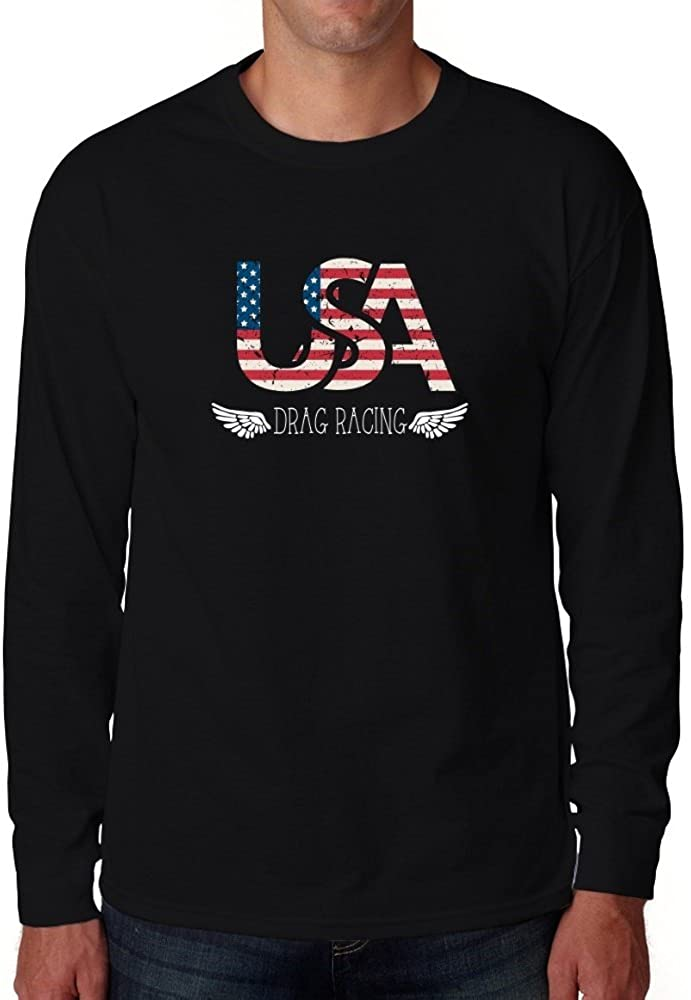 Eddany USA Drag Racing Long Sleeve T-Shirt