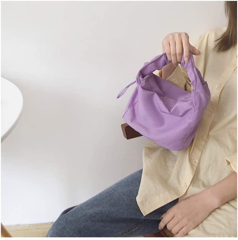 QINREN Women Vintage Pu Handbag Lady Top Handle Tote Messenger Satchel Purse,Purple,Pu