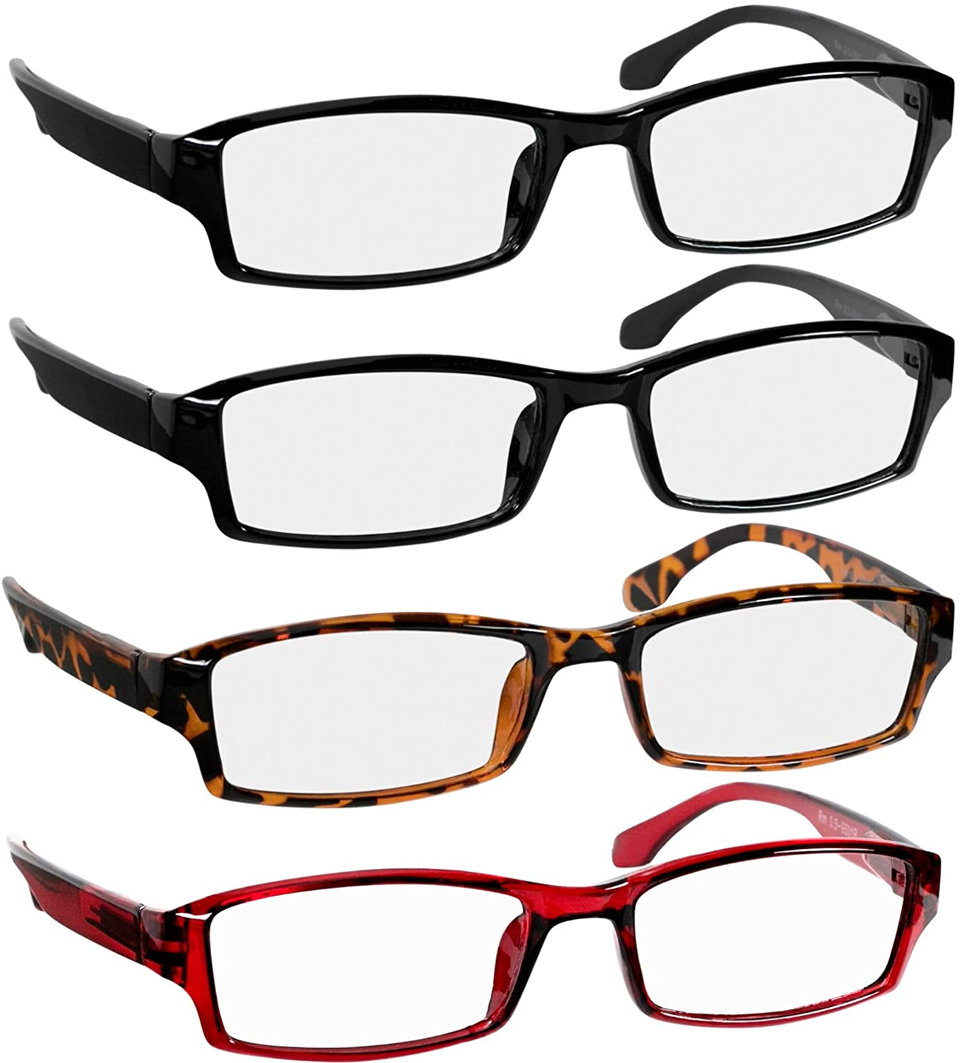 Reading Glasses Men and Women - Classic Readers Spring Hinge & Dura-Tight Screws