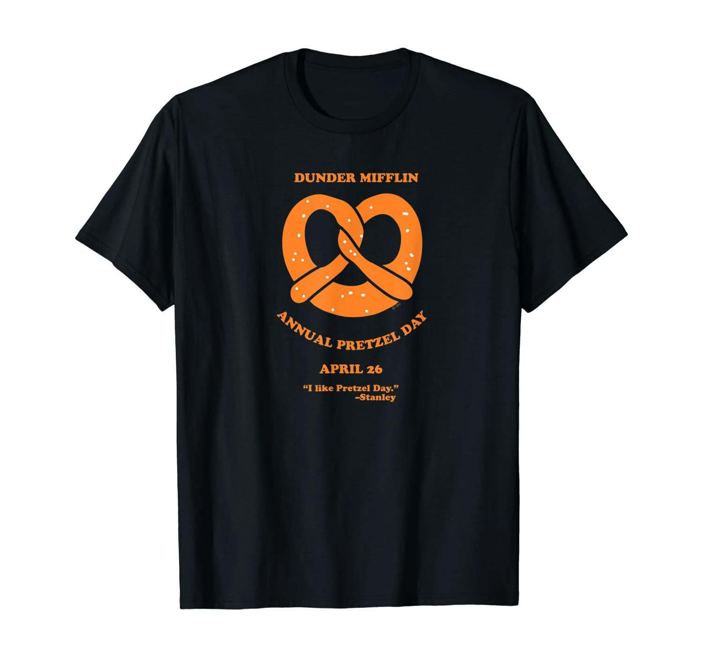 The Office Dunder Mifflin Annual Pretzel Day T-Shirt