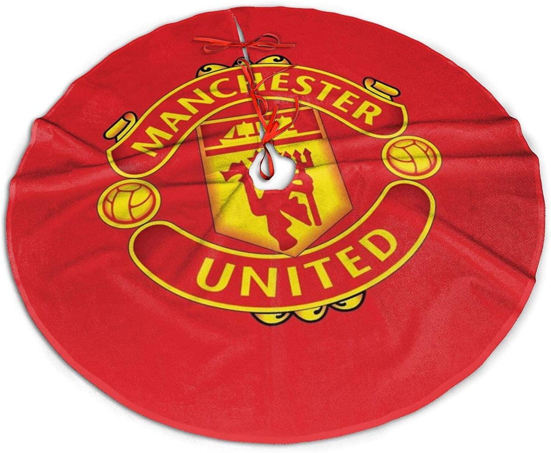 Manchester United Christmas Tree Skirt 36