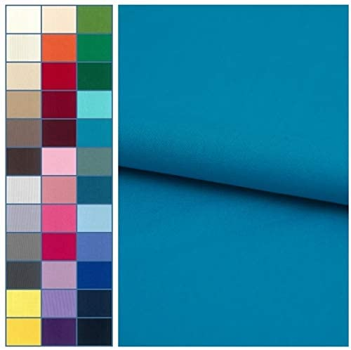 COTTONVILL 20COUNT Cotton Solid Quilting Fabric (1yard, 31-Bluebird)