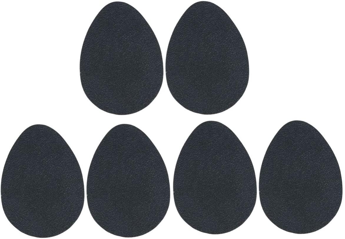 HEALLILY 3 Pairs Anti-Slip Shoe Pads Rubber High Heel Shoe Sole Protector Shoe Grips