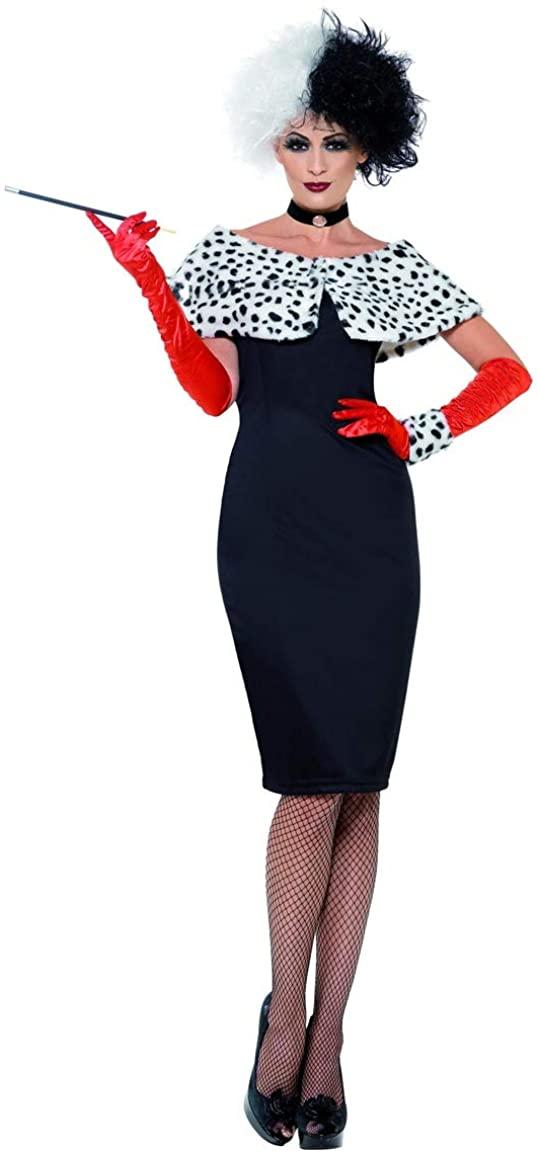 Evil Madame Costume 1X Black