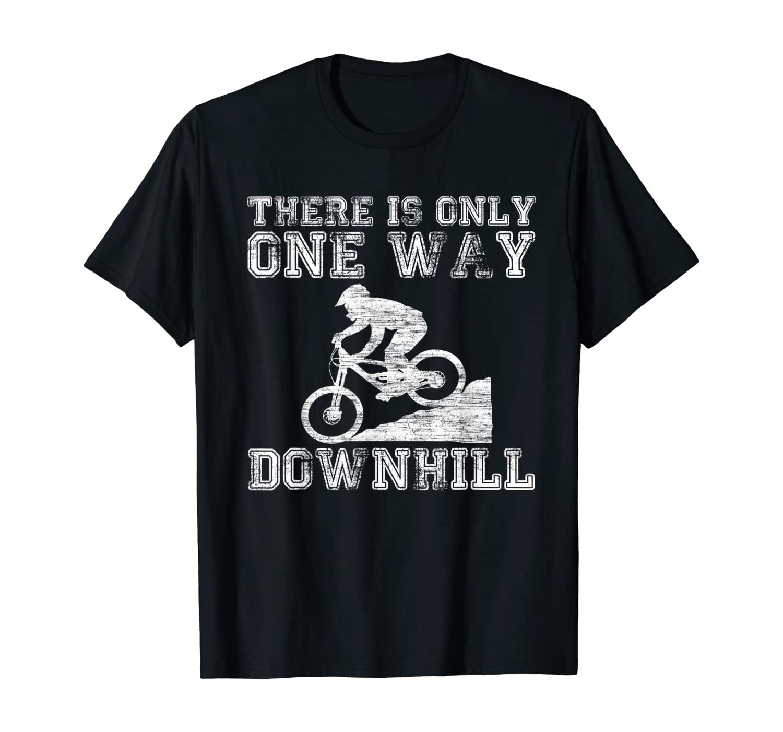 Mountain Bike Downhill Gift I Mountain Biking MTB T-Shirt