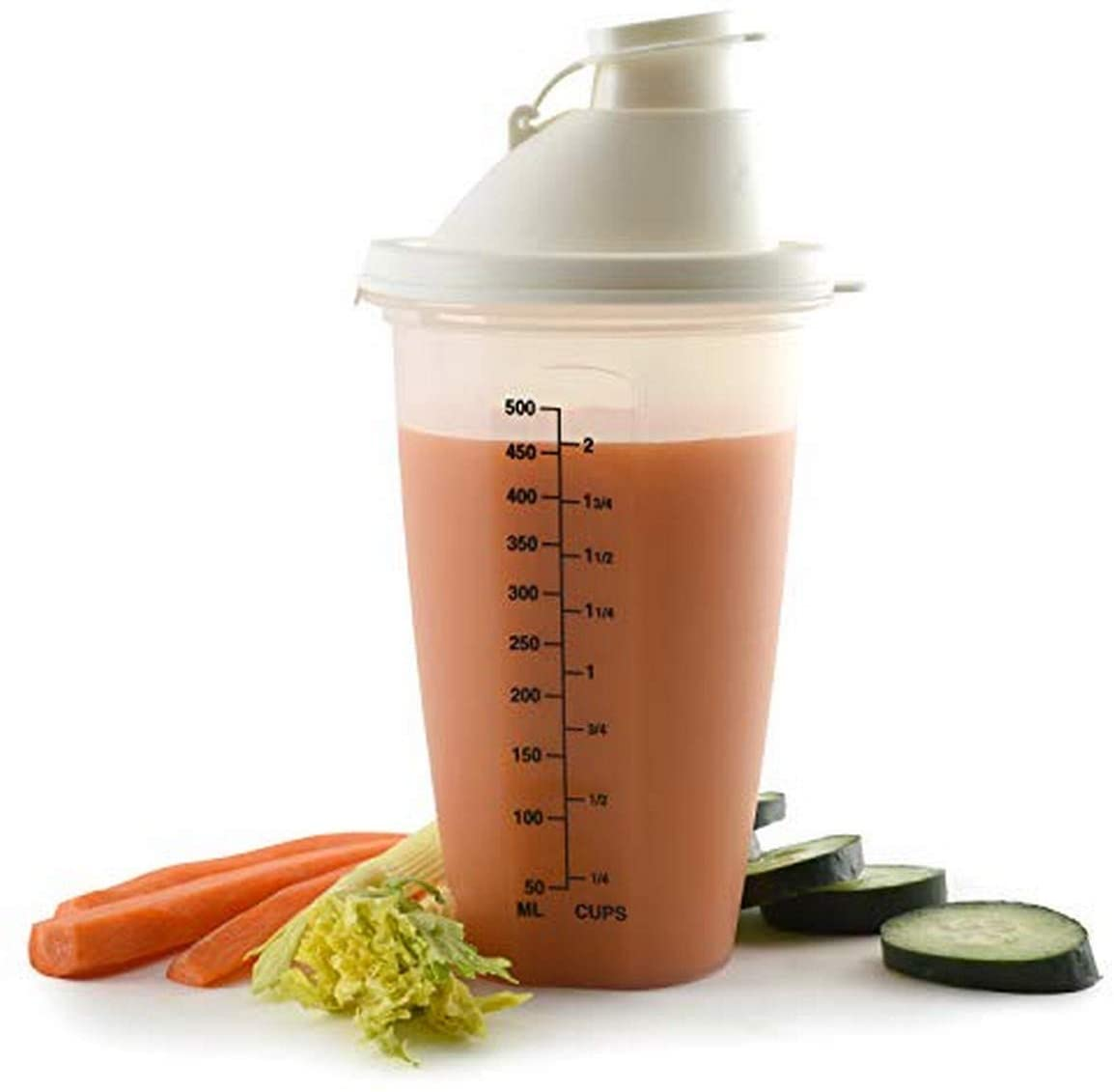 Norpro Measuring Shaker, 2-Cup, 8 Inch