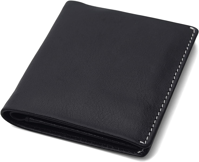 Allonsi RFID Mens Leather Bifold Wallet | Handmade Leather Wallets for Men