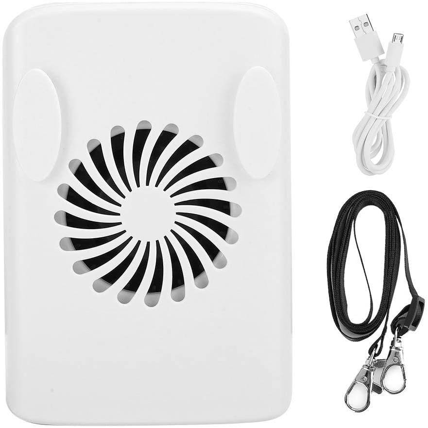 sjlerst USB Fan, Mini Air Cooler, Multiple Protection Handheld for Travel Outdoor for Home