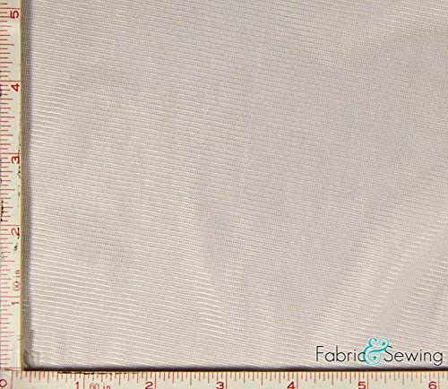 Light Pink Tricot Knit Lining Fabric 2 Way Stretch Polyester 6 Oz 108