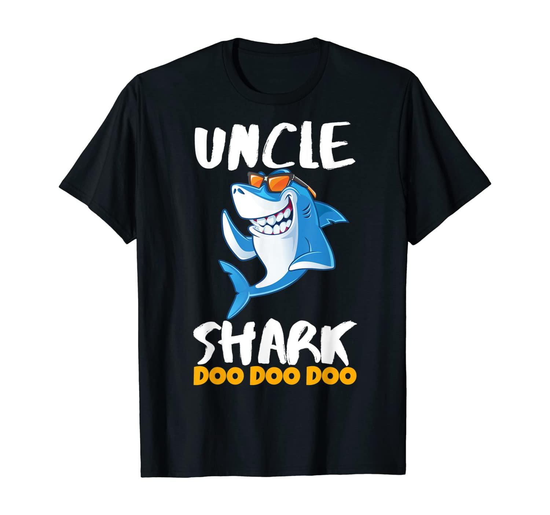 Mens Uncle Shark Shirt Doo Doo Best Christmas Gift Men & Teens T-Shirt