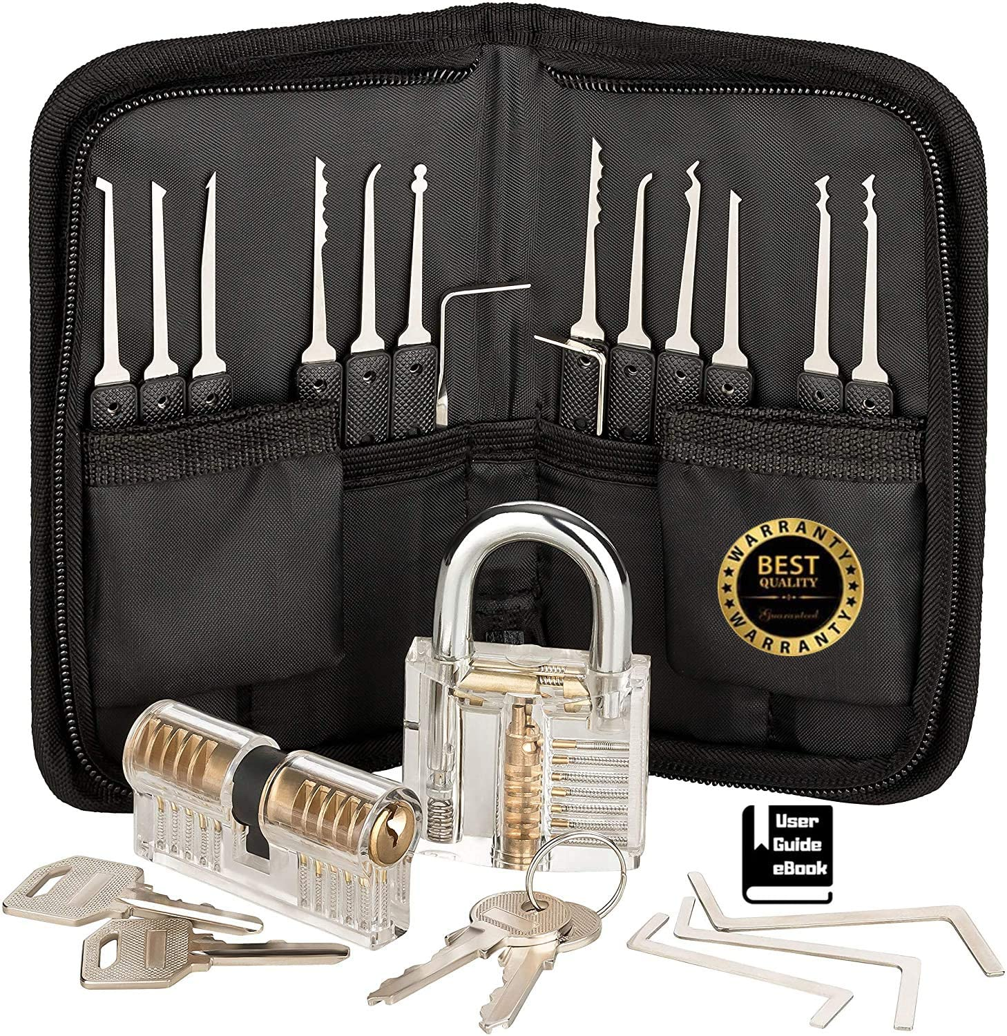 MZG-story Lock Stainless Steel multi-function with Set 17-Piece